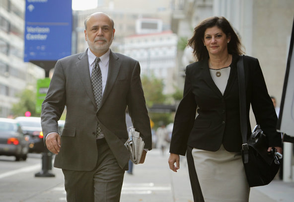 Ben S. Bernanke, former chairman of the Federal Reserve, testified in a lawsuit brought against the government over its bailout of A.I.G.