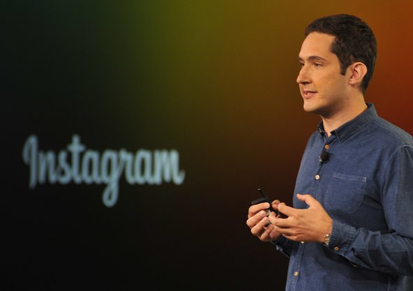 Kevin Systrom, chief executive of Instagram, which announced that it now has 300 million monthly active users.