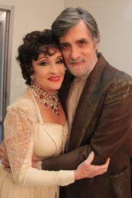 Chita Rivera and Roger Rees.