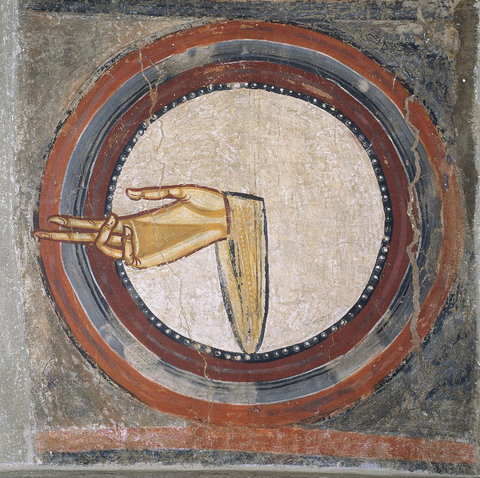 'The Hand of God,' circa 1123.