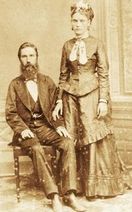 Joseph Whitaker and Isabel Norris, two early Confederate migrants to Brazil.