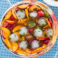 Summer = Sangria!  (Actually I could drink it all year long!)