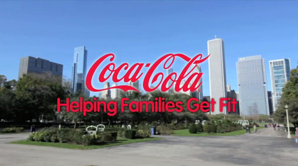 An image from a video by the Coca-Cola Foundation. In November 2012, the foundation  announced a $3 million grant to Chicago's Garfield Park Conservatory Alliance. The grant was intended to establish a wellness program.
