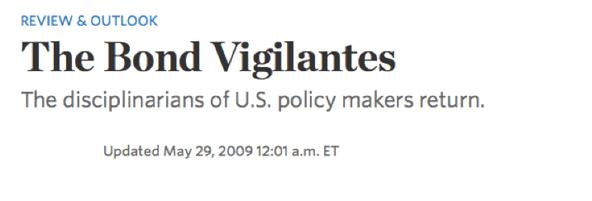 The Wall Street Journal speaks
