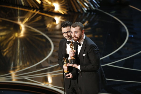 Jimmy Napes and Sam Smith.