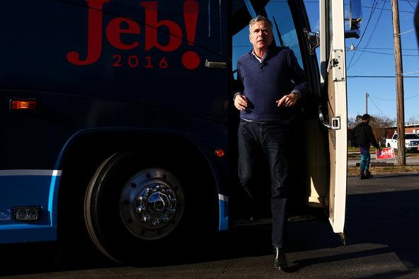 Jeb Bush in Leesville, S.C., last month.