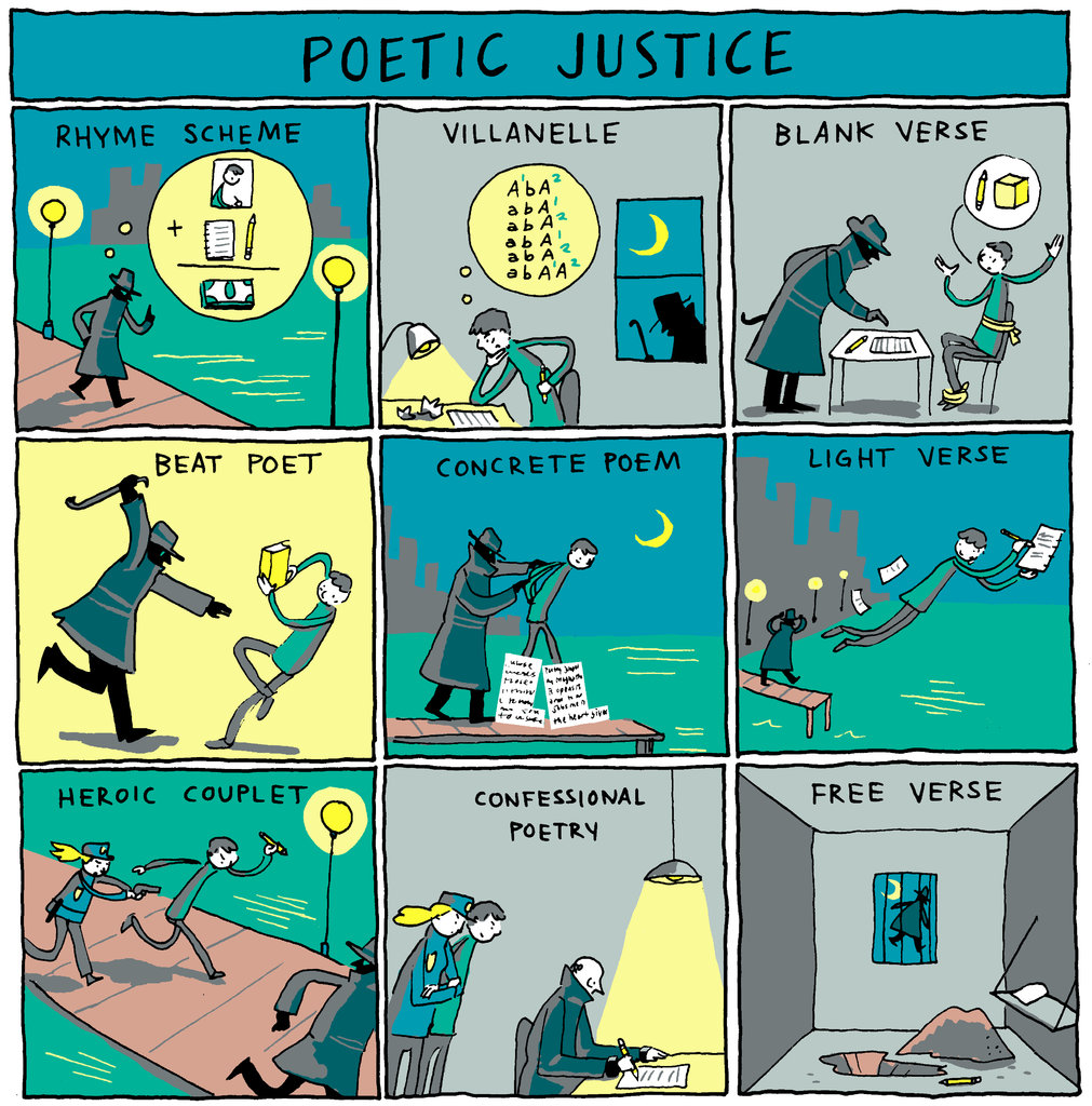 National Poetry Month, Poetic Justice