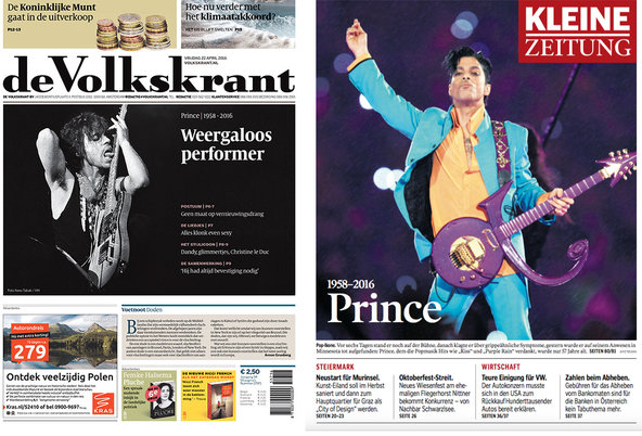 "The Dutch newspaper <a href=""http://www.volkskrant.nl/"">De Volkskrant</a> and The Austrian daily <a href=""http://www.kleinezeitung.at"">Kleine Zeitung</a>."
