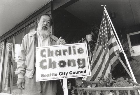 Charlie Chong, Seattle, 1996.
