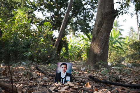 Taksamol Aobaom, a lawyer, was shot dead on a main highway on Sept. 10, 2011. He was campaigning against the mistreatment of an ethnic Karen community by Kaeng Krachan National Park officials.