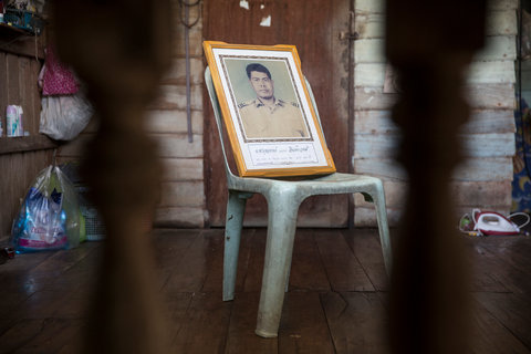 Boonyong Intawong, 42, was shot dead in his house on Dec. 20, 2002, in Baan Rong Ha village, Amphur Wiang Chai in Chiang Rai Province. He was one of the leaders of a campaign against a mining company and was targeted after bringing a team from the National Human Rights Commission to view environmental damage.