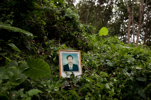 Boonrit Channanrong was shot dead in a rubber plantation on Dec. 15, 2002, in Ta Chana District, Surat Thani Province. He was the leader of a local community that was working to expose illegal logging conducted by national park officials.