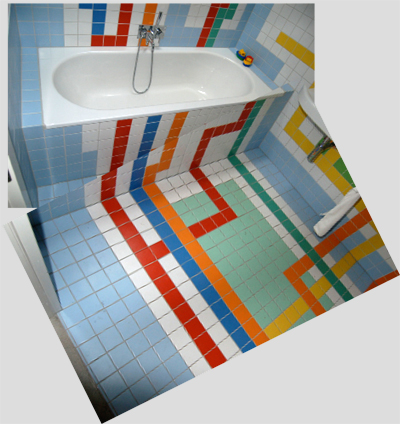 Christoph Niemann - Bathroom Tile