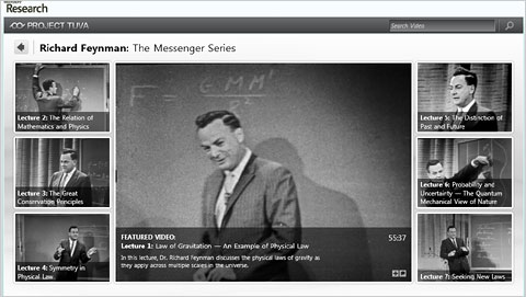 Feynman Video Site