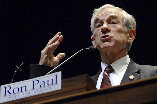 Ron Paul spoke to supporters Monday at the University of Minnesota. (Photo: Janet Hostetter/Associated Press)