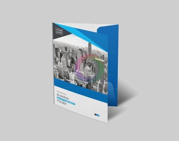 Business presentation folder template graphic templates business presentation folder template 01presentiton folder 1g wajeb Choice Image
