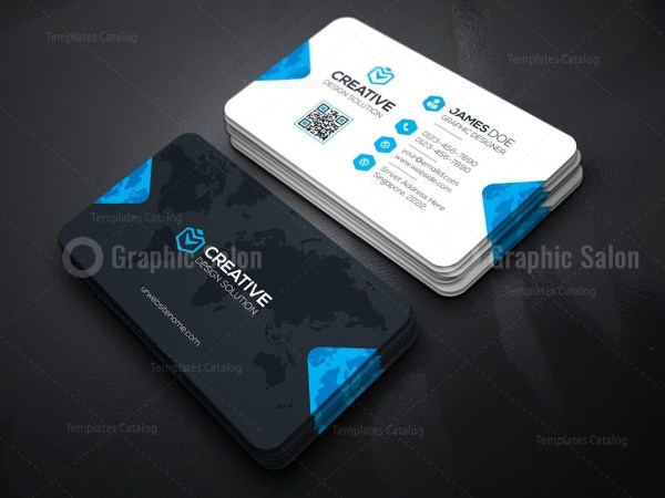 Creative company business card template graphic templates creative company business card template cheaphphosting Images