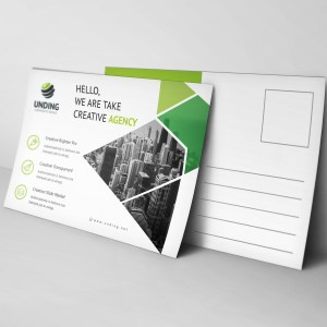 Aether Elegant Postcard Template