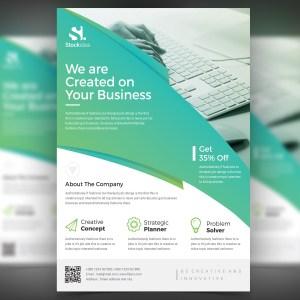 Alexander Modern Professional Business Flyer Template