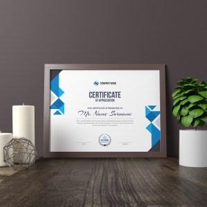 Angel Corporate Certificate Template