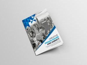 Angel Creative Bi-Fold Brochure Template