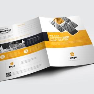 Ares Elegant Presentation Folder Template