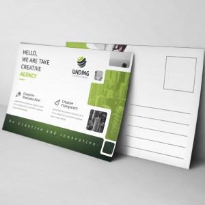 Ares Modern Elegant Postcard Template