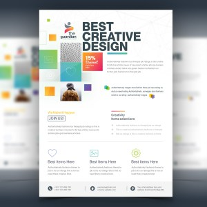 Atlas Elegant Corporate Flyer Template