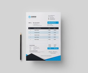Atlas Premium Corporate Invoice Template