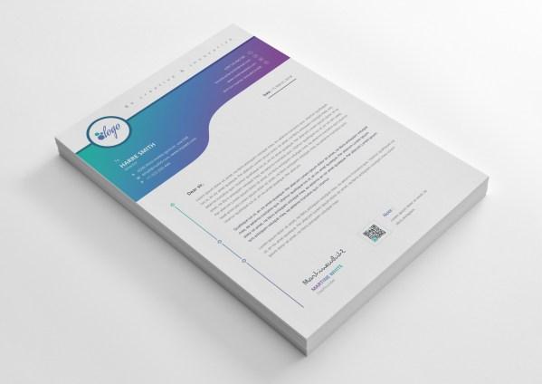 Atlas Professional Corporate Letterhead Template