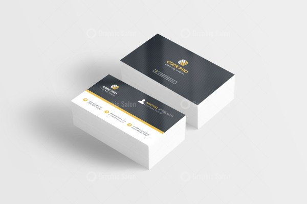 Automotive Stylish Business Card Template