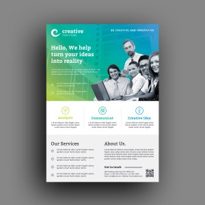 Cape Town Creative Business Corporate Flyer Template