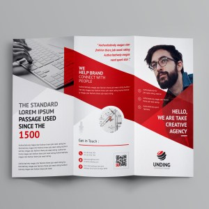 Cerberus Corporate Tri-Fold Brochure Template