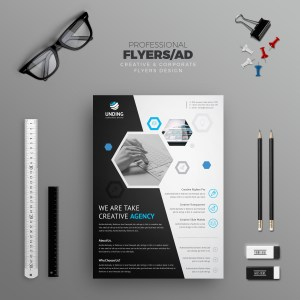 Charisma Elegant Premium Business Flyer Template
