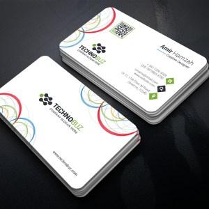 Circle Premium Business Card Template