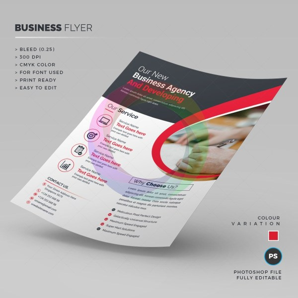 Clean Corporate Flyer Template 1