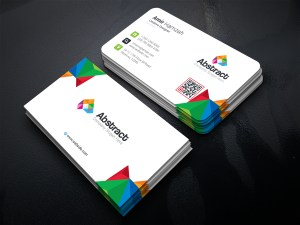 Colorful Premium Corporate Business Card Template