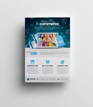 Commerce Elegant Premium Business Flyer Template