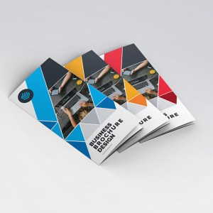 Diamond Classy Tri-Fold Brochure Template