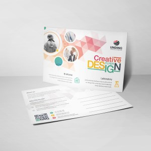 Diamond Professional Elegant Postcard Template