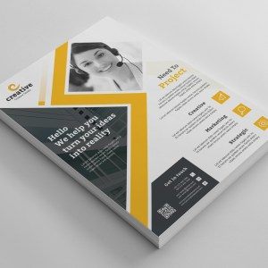 Edison Modern Business Corporate Flyer Template