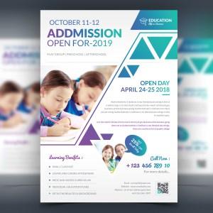 Elegant Premium Education Flyer Template