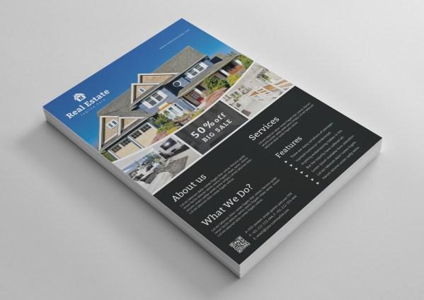 Elegant Real Estate Flyer Template