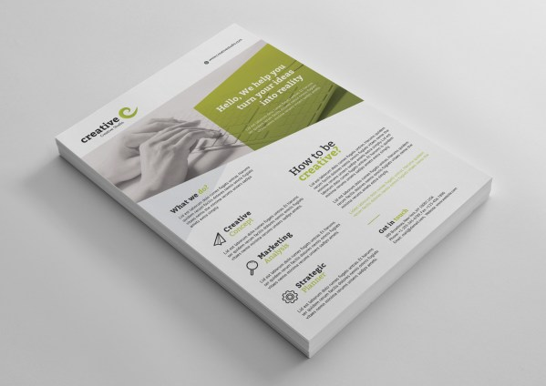 Fiji Elegant Business Corporate Flyer Template