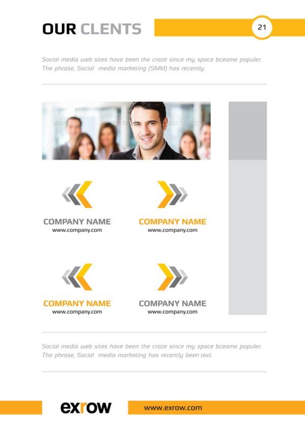 Bravo Elegant Professional Business Flyer Template
