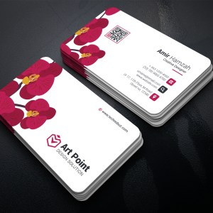 Flower Professional Corporate Business Card Template