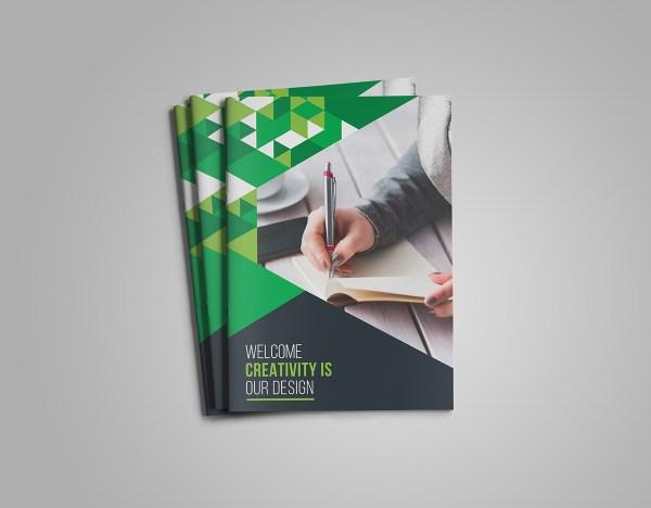 Gem Corporate Bi-Fold Brochure Template