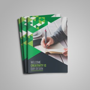 Gem Corporate Bi-Fold Brochure Template