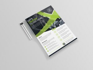 Glaucus Professional Corporate Flyer Template