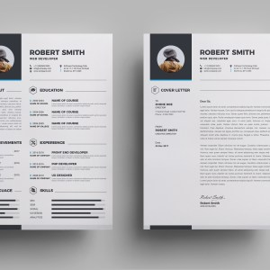 Halley Premium Resume Template
